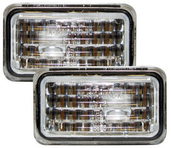 Audi 100 C4 & S4 Side Indicator Lights - Clear Jewel-Style (90-94)
