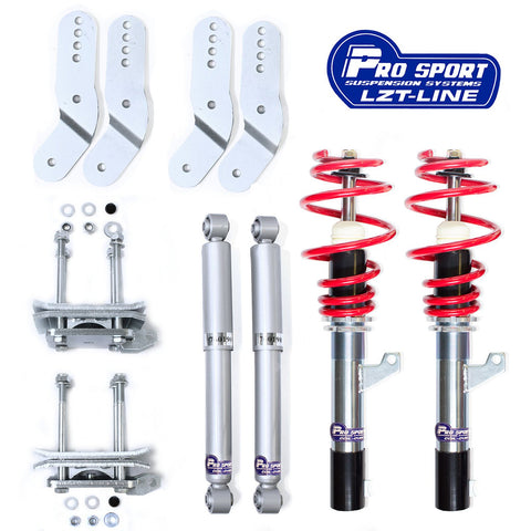 VW Caddy MK3 2K Coilovers - Adjustable Suspension Lowering Kit