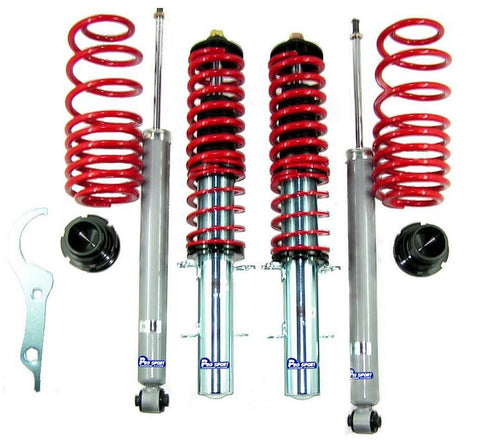 VW Bora Coilovers - Adjustable Suspension Lowering Kit