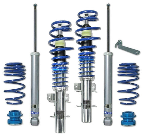 VW Fox Coilovers - Adjustable Suspension Lowering Kit