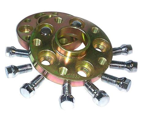 Audi A3 8L 20mm Hubcentric Wheel Adapter Spacers - PCD 5x100 to 5x112