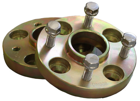VW Passat B2 25mm Hubcentric Wheel Spacers - PCD 4x100 - M12x1.5mm