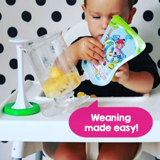 Baby Food Reusable Pouches