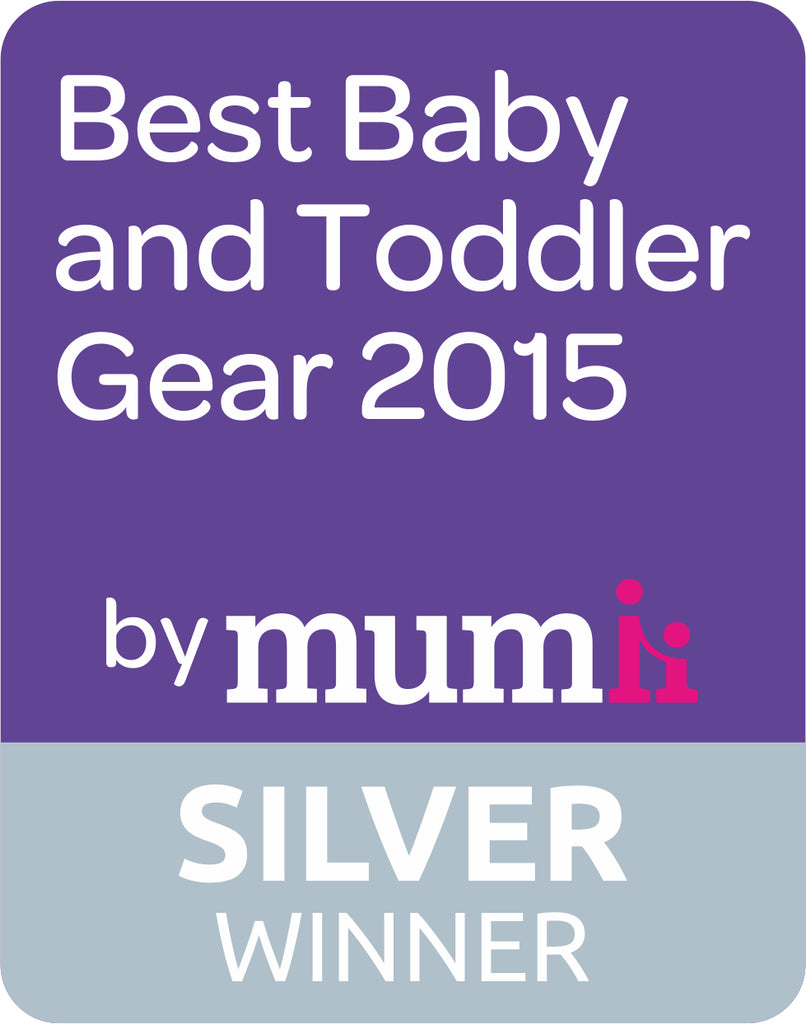 Best Baby & Toddler Awards 2015 – Silver for best weaning product!