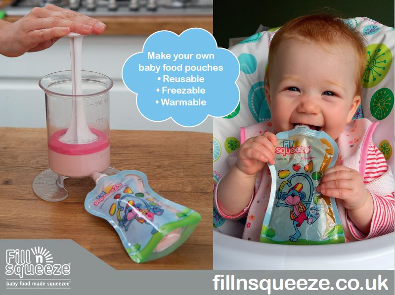 Feeding On The Go Made Easy With Fill n Squeeze!