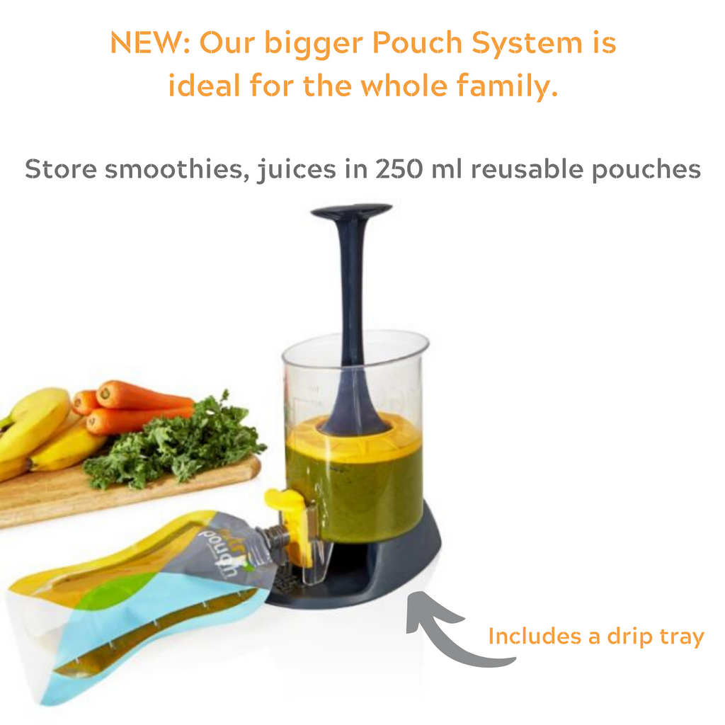 Bargain Pack - 750ml Filler Pouch Filler System & 2 x 250 ml Pouches