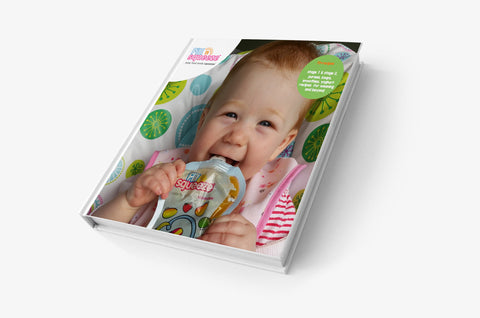 Baby Food Pouch Maker Kit - Bumper Kit - inc 15 Pouches, 1 Spoon, 1 Brush and a Recipe Book + FREE Cooler Bag only £45.99.