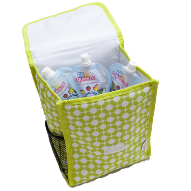 FILL N SQUEEZE INSULATED POUCH COOLER BAG