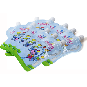 NO LEAK POUCH Fill n Squeeze Refill Pack of Re-usable Pouches For Babies and Toddlers to be used with the Fill n Squeeze Pouch Filling System Pouches are BPA Free and Reusable 10 x 150 ml 5oz
