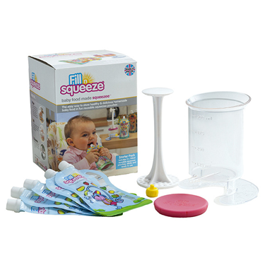 WEANING BABY FOOD POUCH SYSTEM