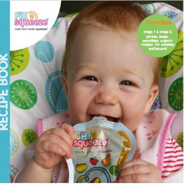 Image of Baby Weaning, Feeding, Toddler recipe book