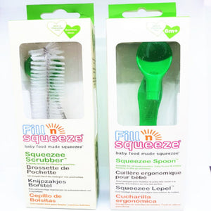 Value pack - Pouch Cleaning Brush & Weaning Pouch Spoon