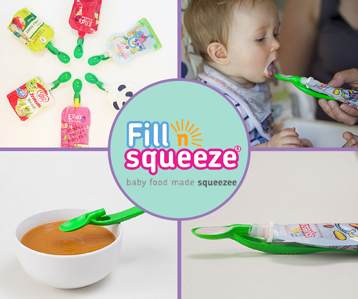 Baby weaning Pouch Spoon