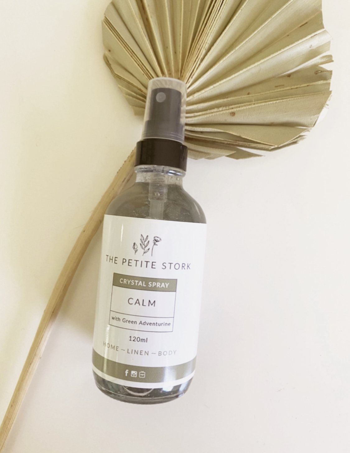 Calm Spray With Adventurine – Labour & Birth - The Petite Stork