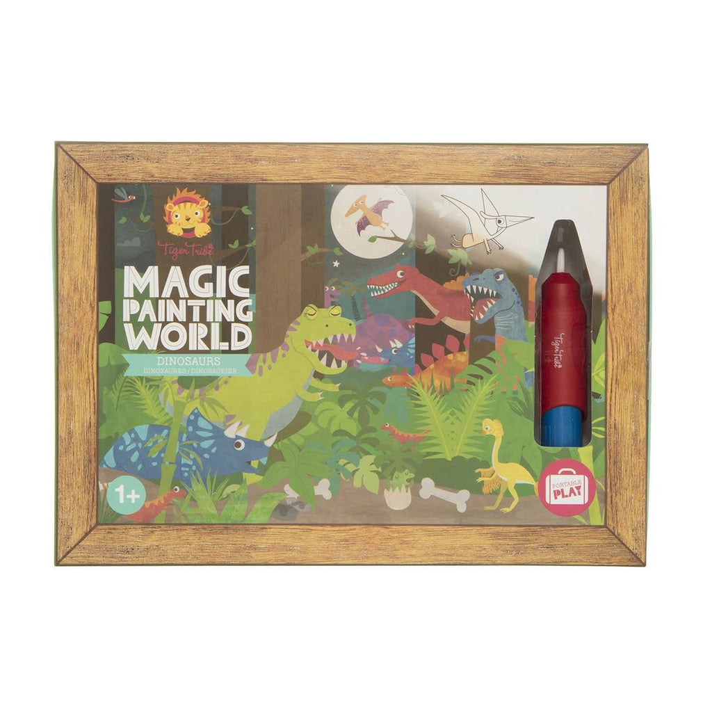 Magic Painting World- Dinosaurs - Tiger Tribe