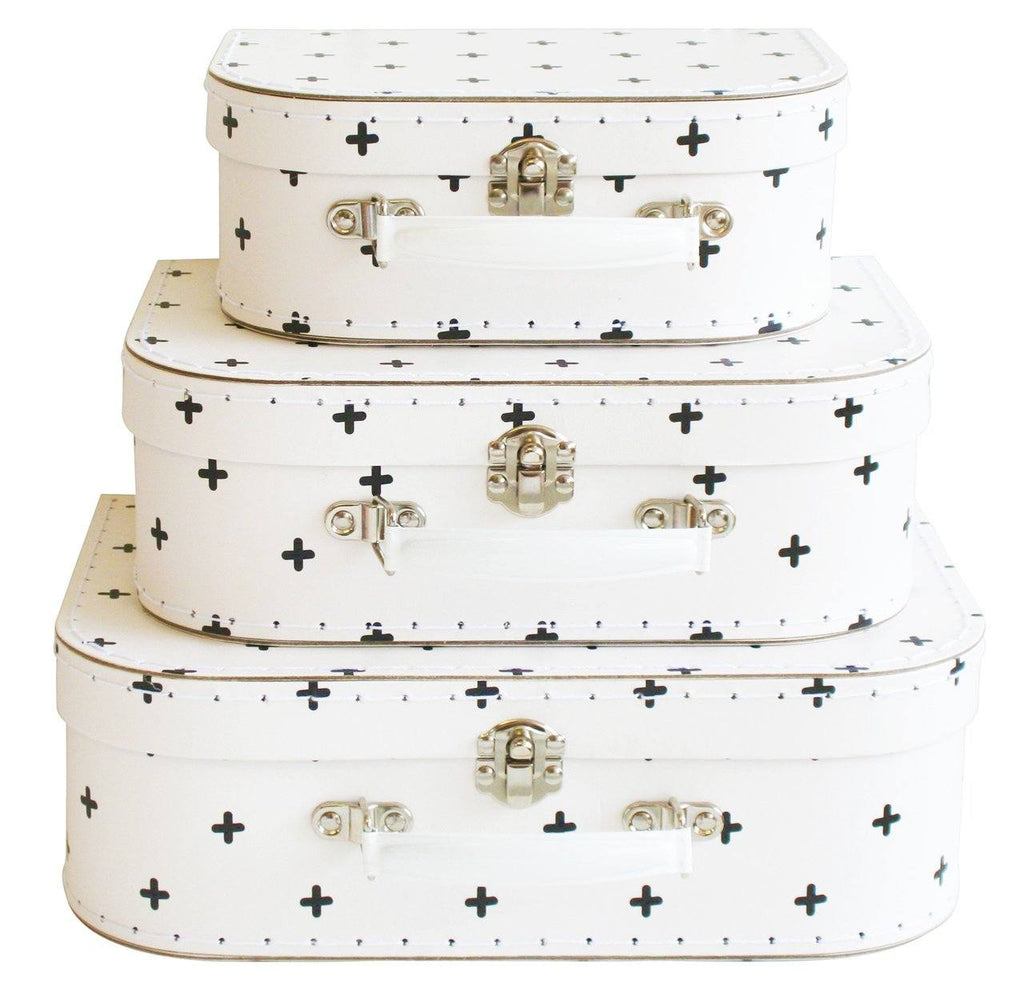 Alimrose swiss cross suitcase set