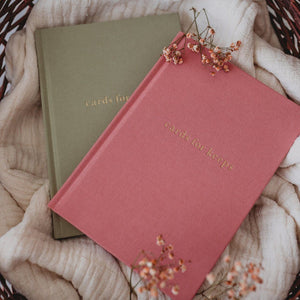 Cards for Keeps - Blush - Journal - Write to me
