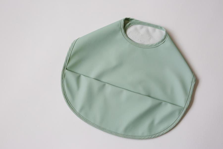 Snuggle Bib - Waterproof - Sage - Snuggle Hunny Kids