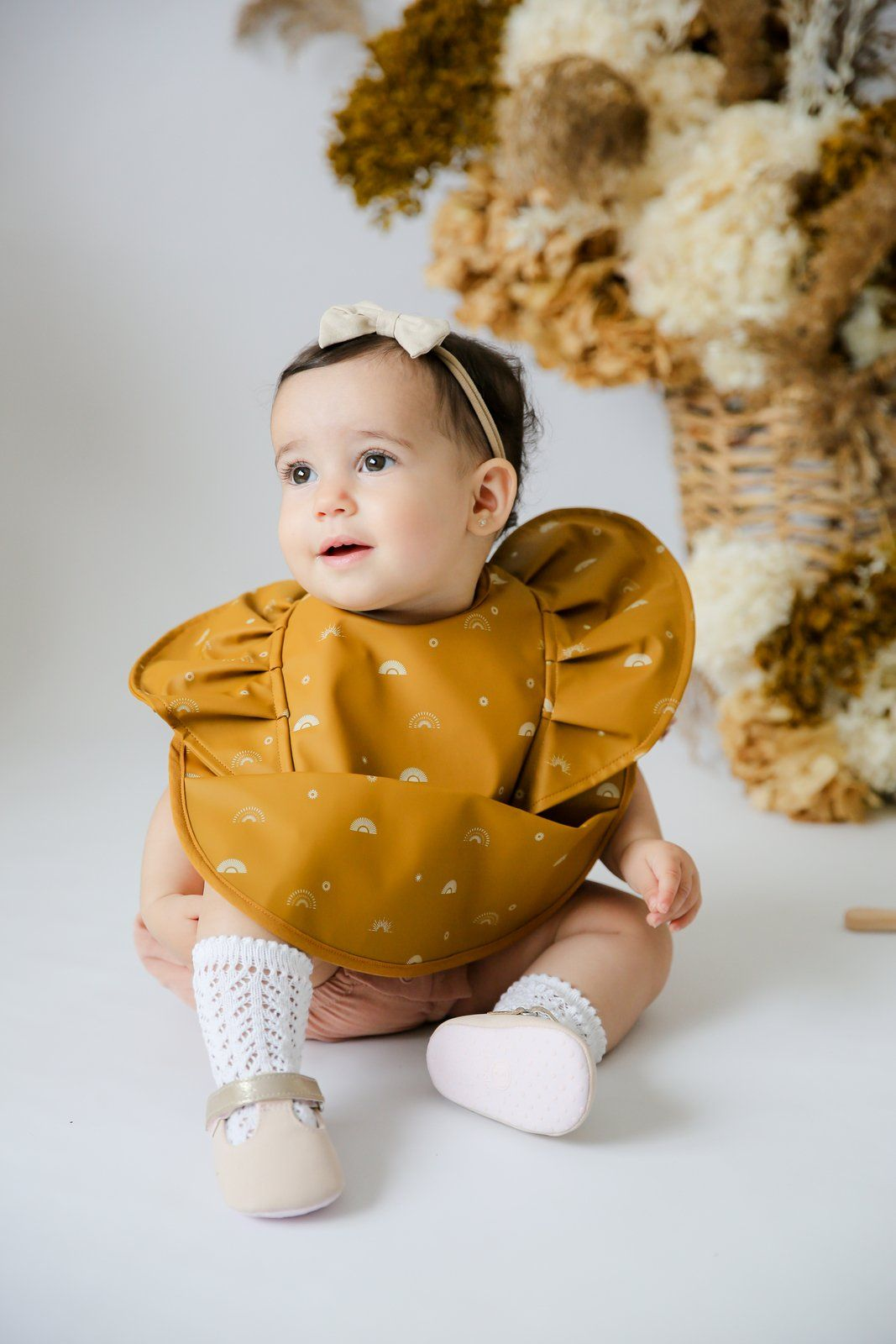 Snuggle Bib - Waterproof - Sunrise Frill - Snuggle Hunny Kids