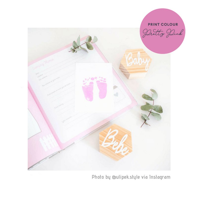Pink- Ink-less Print Kit - Baby Ink