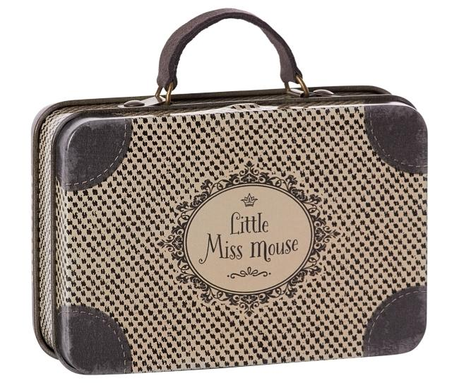 Metal Suitcase Little Ms Mouse - Maileg