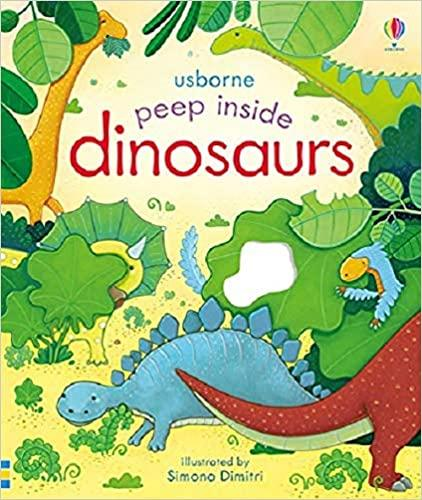 Kids Book- 'Peep inside Dinosaurs'
