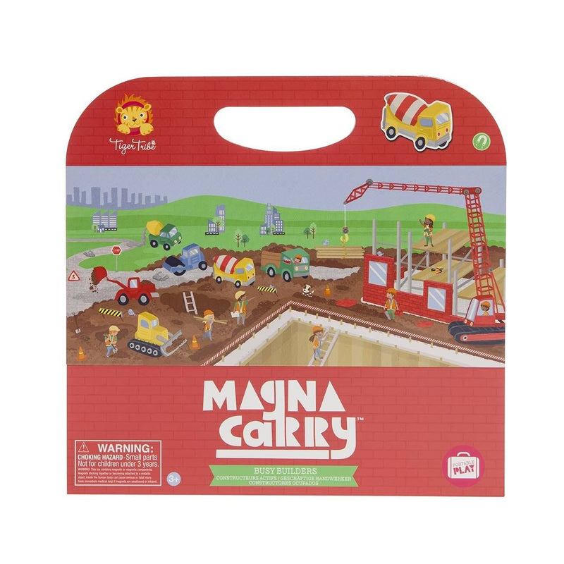 Magna Carry- Busy Builders - Tiger Tribe