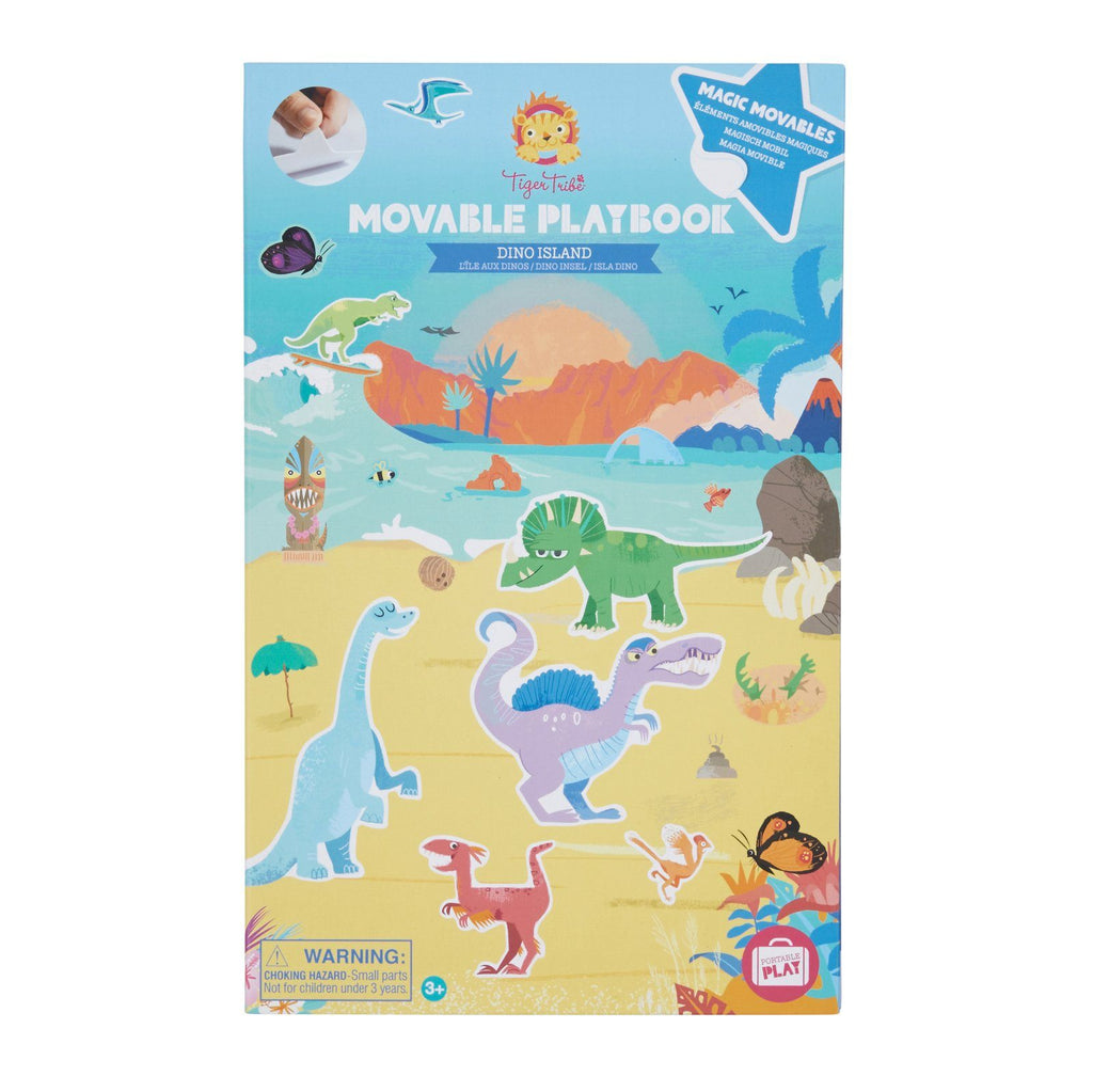 Movable Playbook - Dino Island - Tiger Tribe