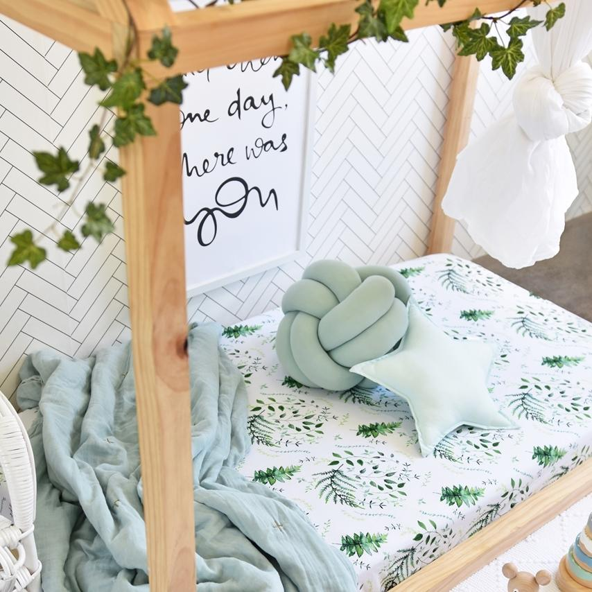 Enchanted Fitted Cot Sheet- Snuggle Hunny Kids