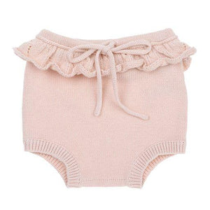 Knitted baby bloomers - Cream - Bonnie & Harlo
