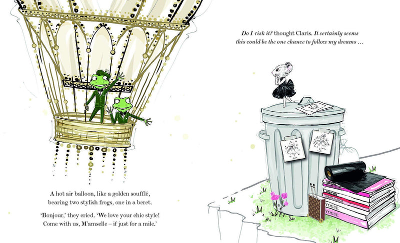 Claris - the chicest mouse in Paris - Kids Book
