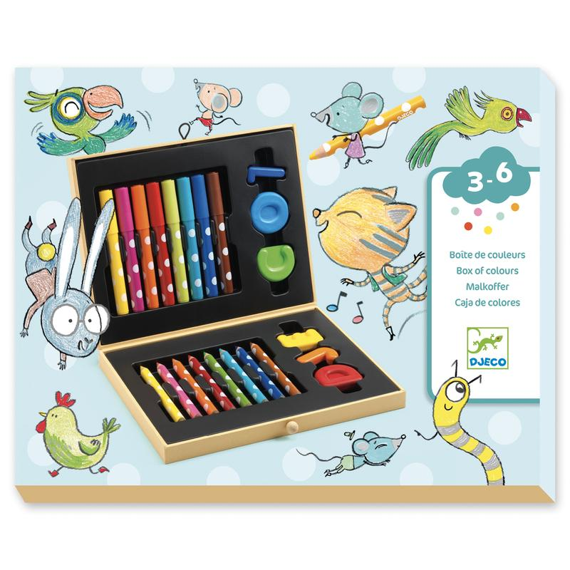 Box of Colours for Little Ones - Djeco DISCOUNTED