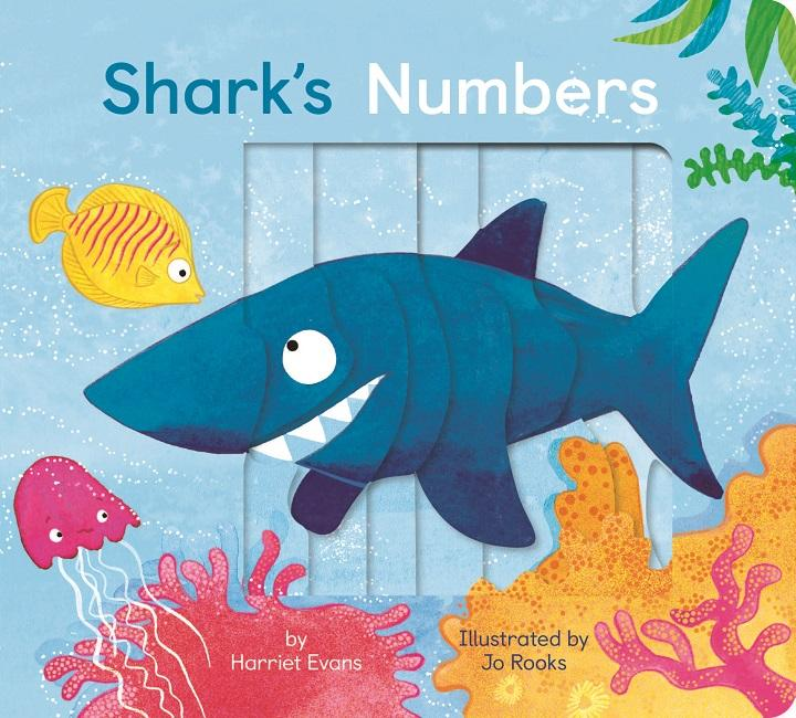 Shark's Numbers- Kids Book