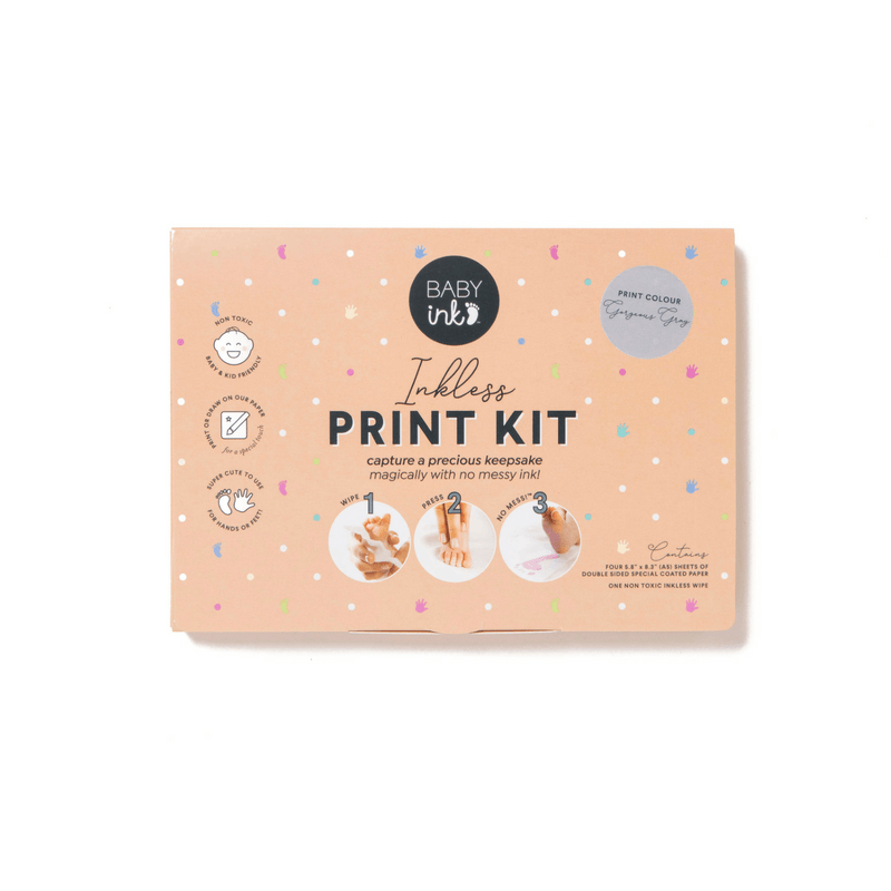 Grey- Ink-less Print Kit - Baby Ink