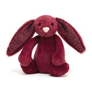 Bashful Sparkly Cassis Bunny Medium - Jellycat