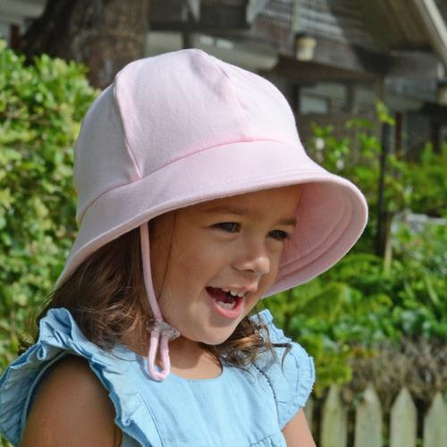 Blush Pink Plain Bucket Hat - Bedhead