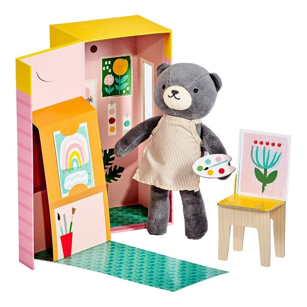 Beatrice the Bear Playset - Petit College DISCOUNTED