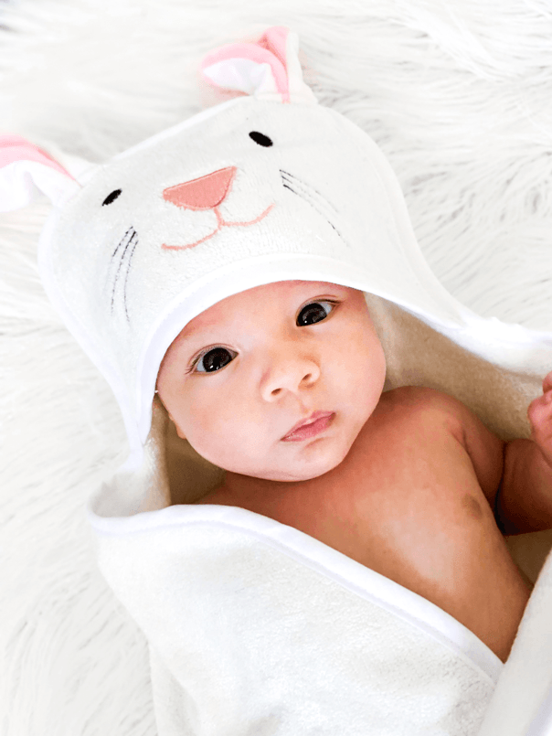 Lily the Bunny Towel - Baby Loves Bubbles