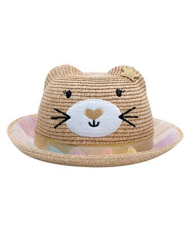 Magical Straw Hat - Cat - Billy Loves Audrey