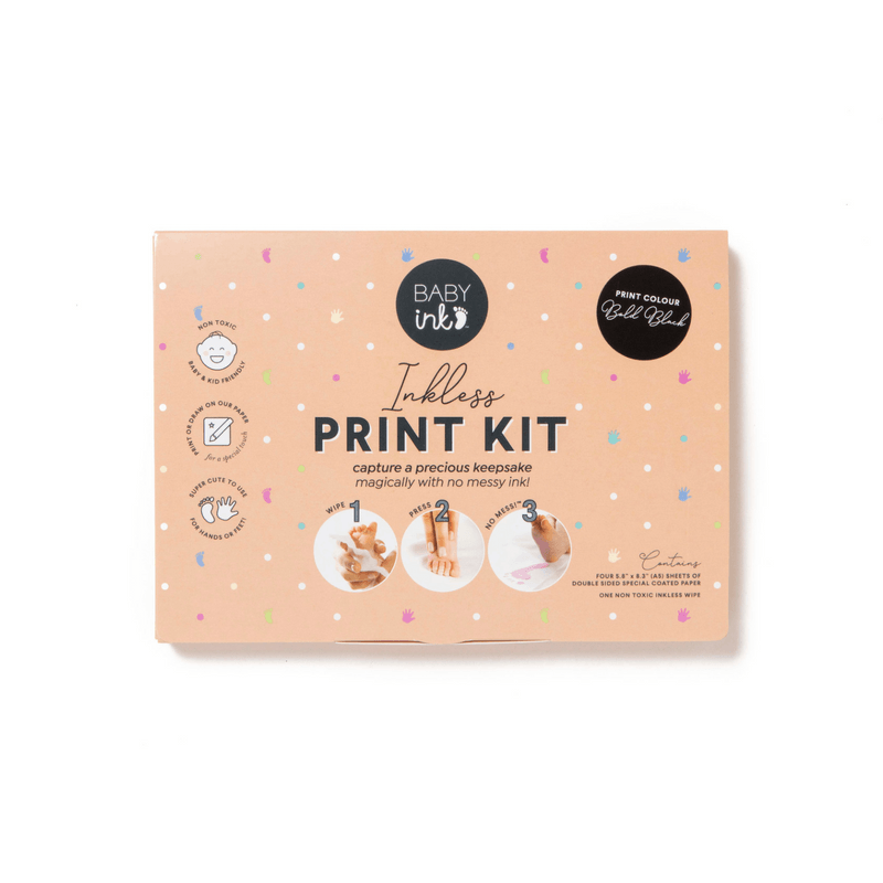 Black-  Ink-less Print Kit - Baby Ink