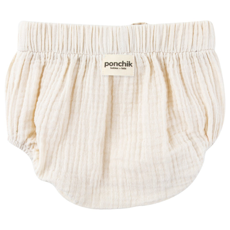 Muslin Cotton Bloomers - Natural - Ponchik