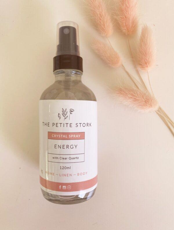 Energy Spray With Clear Quartz – Labour & Birth - The Petite Stork