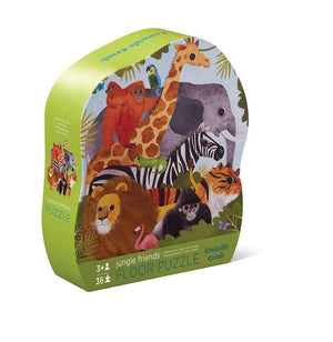 Classic Floor Puzzle 36pc - Jungle Friends - Tiger Tribe