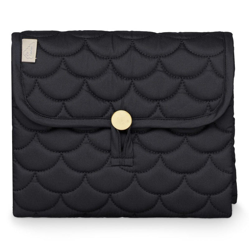 Black Quilted Foldable Changing Mat - CAM CAM Copenhagen