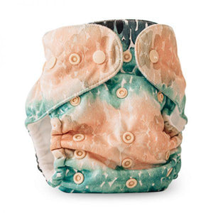 Reusable Nappy - Castaway - Magicall Multi-Fit - Baby Beehinds DISCOUNTED