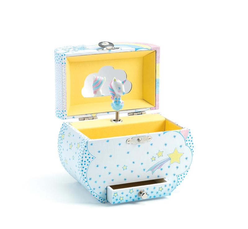 Musical Jewellery Box - Unicorn Dream - Djeco