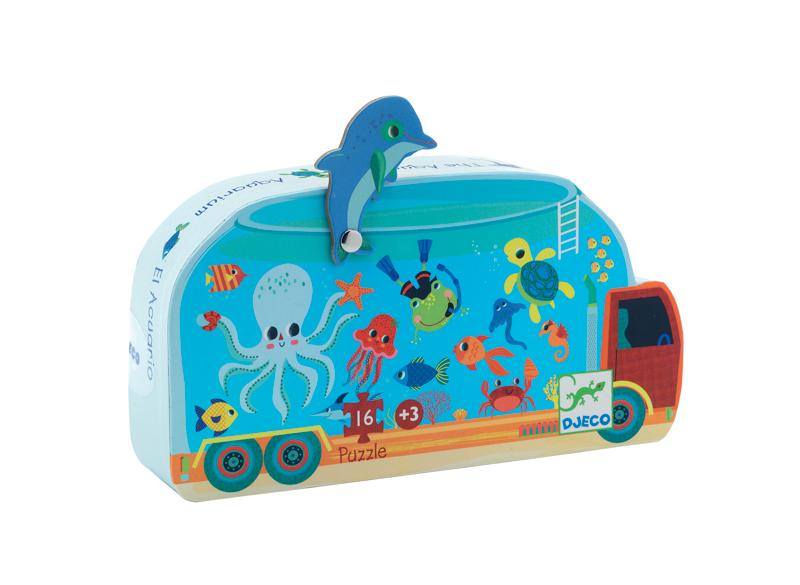 The Aquarium Puzzle - Djeco