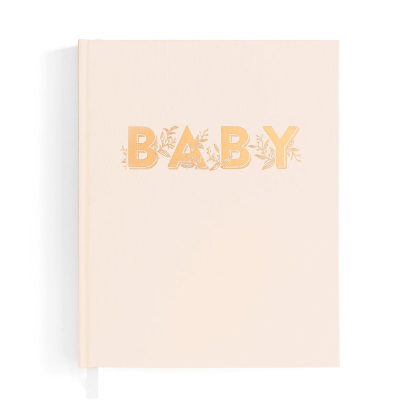 Baby Journal - Buttermilk - Fox & Fallow