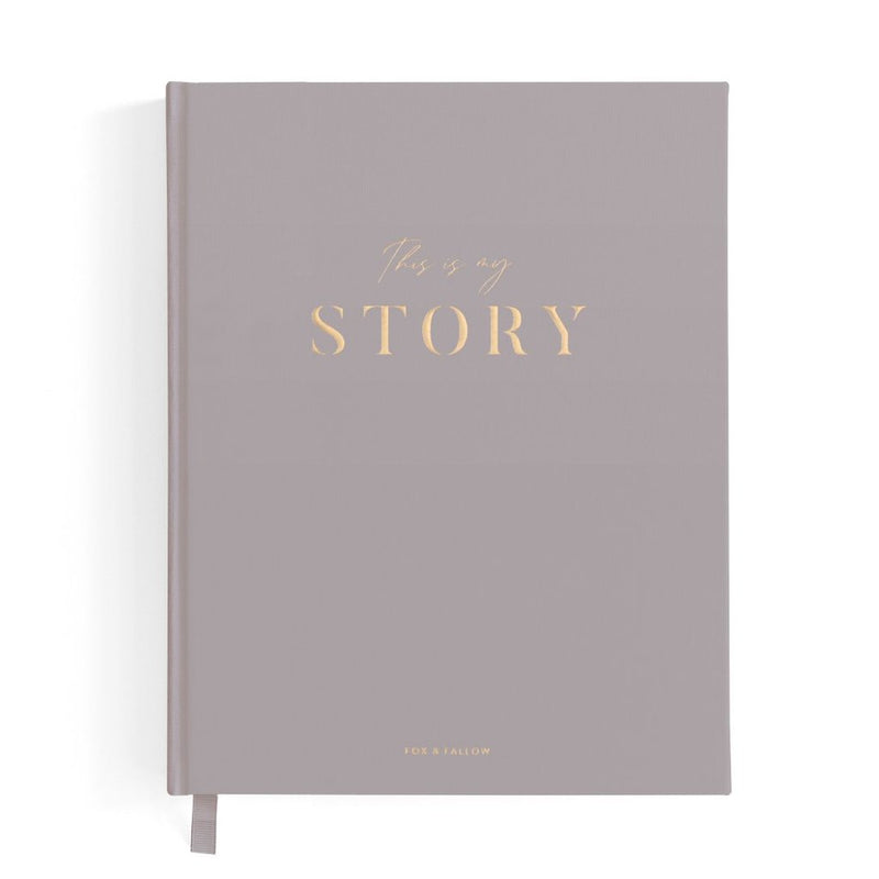 This is My Story Memoir Journal - Fox & Fallow