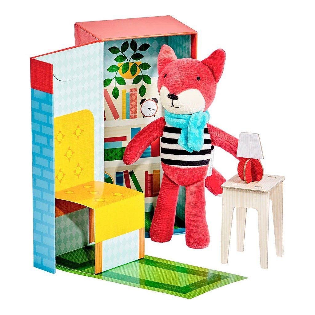Frances the Fox Playset - Petit College DISCOUNTED